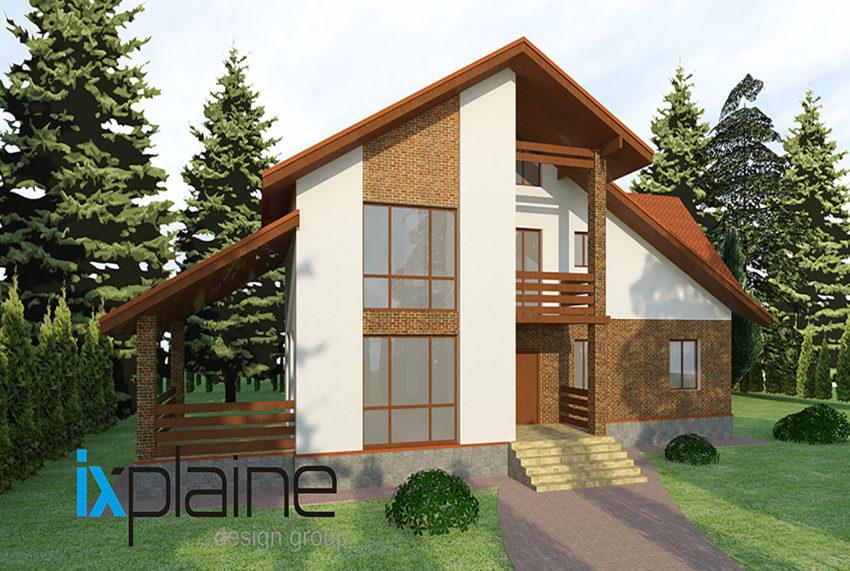 Архитектура дома в Апрелевке