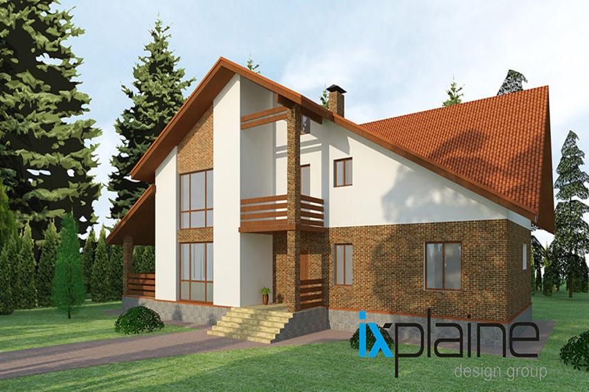 Архитектура дома в Апрелевке 2