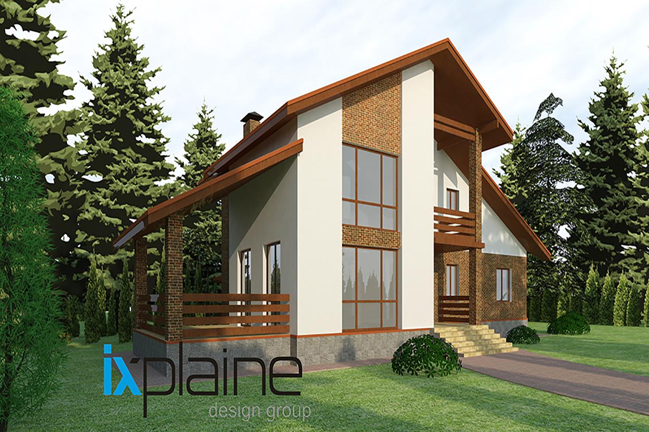 Архитектура дома в Апрелевке 3