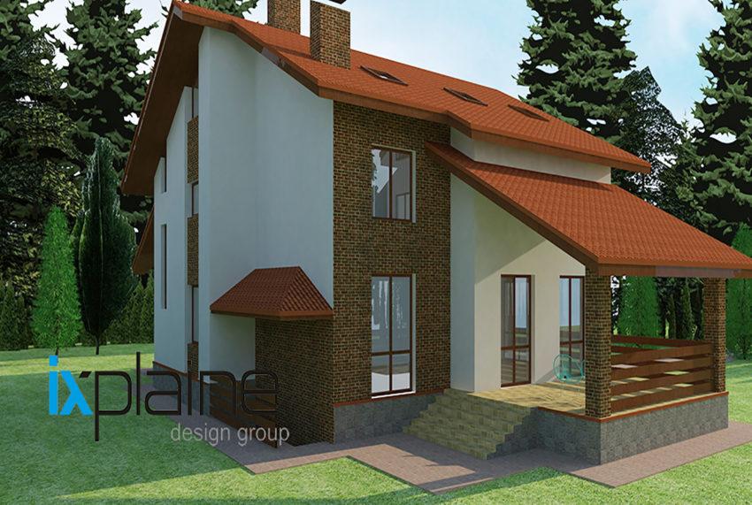 Архитектура дома в Апрелевке 4
