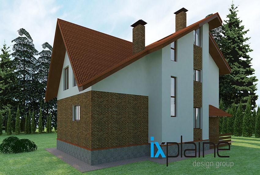 Архитектура дома в Апрелевке 5