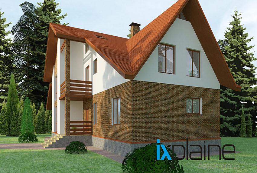 Архитектура дома в Апрелевке 6