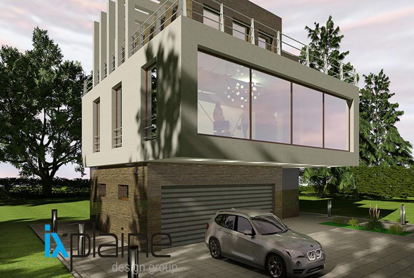 Дом с видом на озеро от Ixplaine Design Group