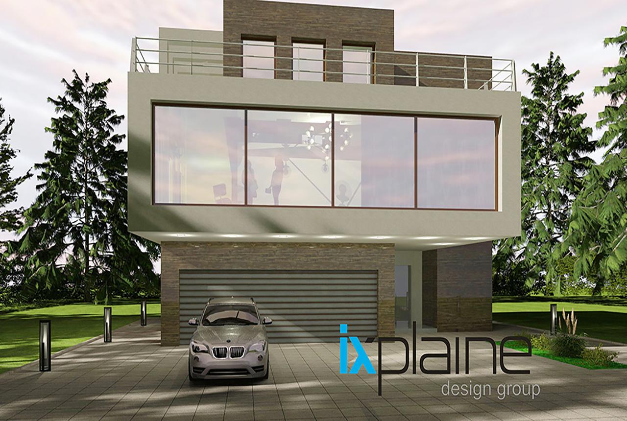 Дом с видом на озеро от Ixplaine Design Group 4