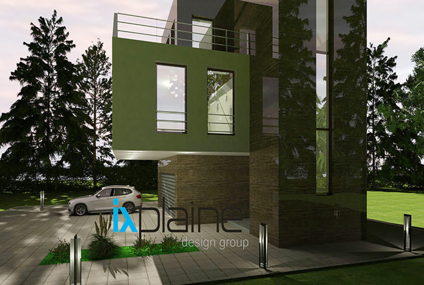 Дом с видом на озеро от Ixplaine Design Group 6
