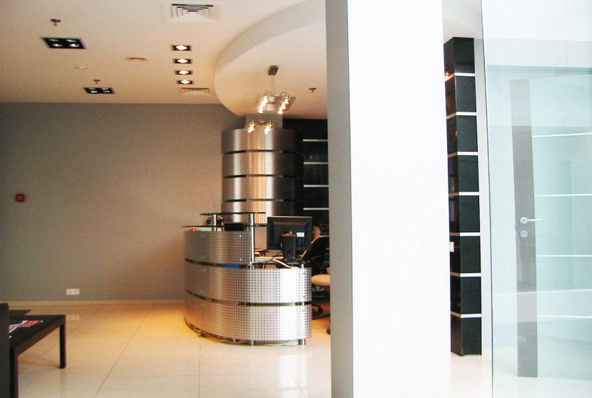 Дизайн в офисе компании «Монолит»