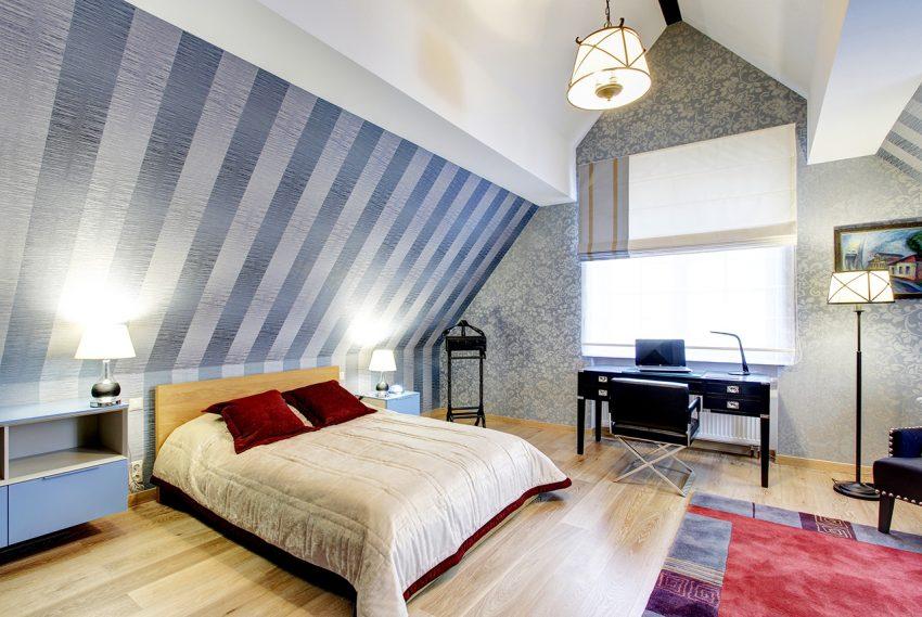 Дизайн интерьера в доме в Горках 1