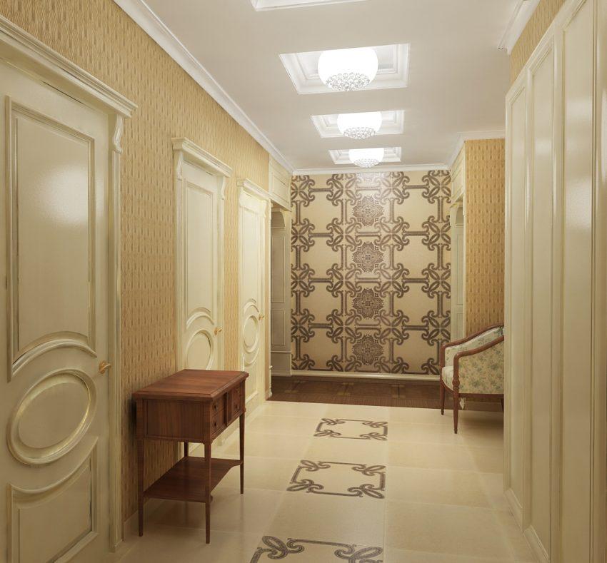 Проектирование квартиры площадью 140М². Ближняя дача