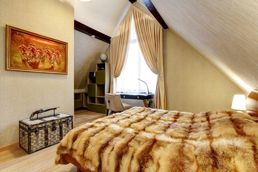 Дизайн интерьера в доме в Горках 10