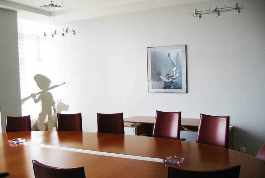 Дизайн в офисе компании «Монолит» 10