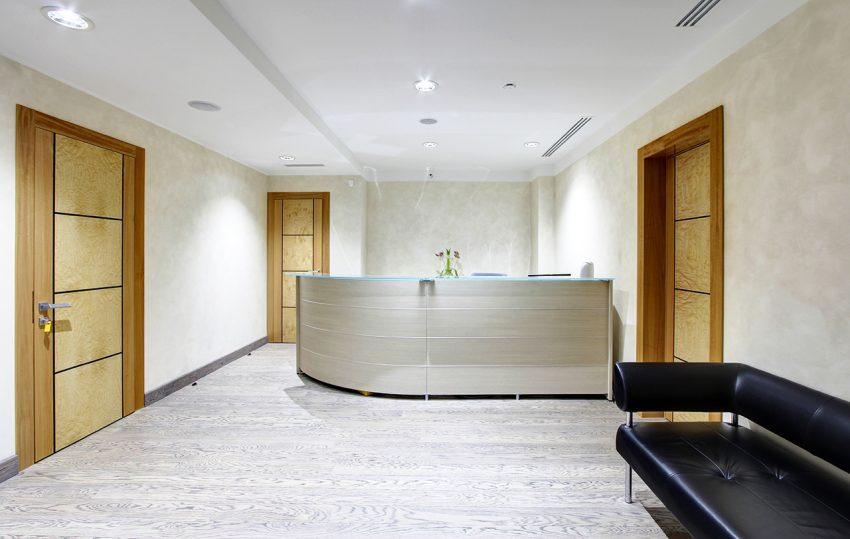 Дизайн интерьера офиса одной из компаний «Газпром» 11
