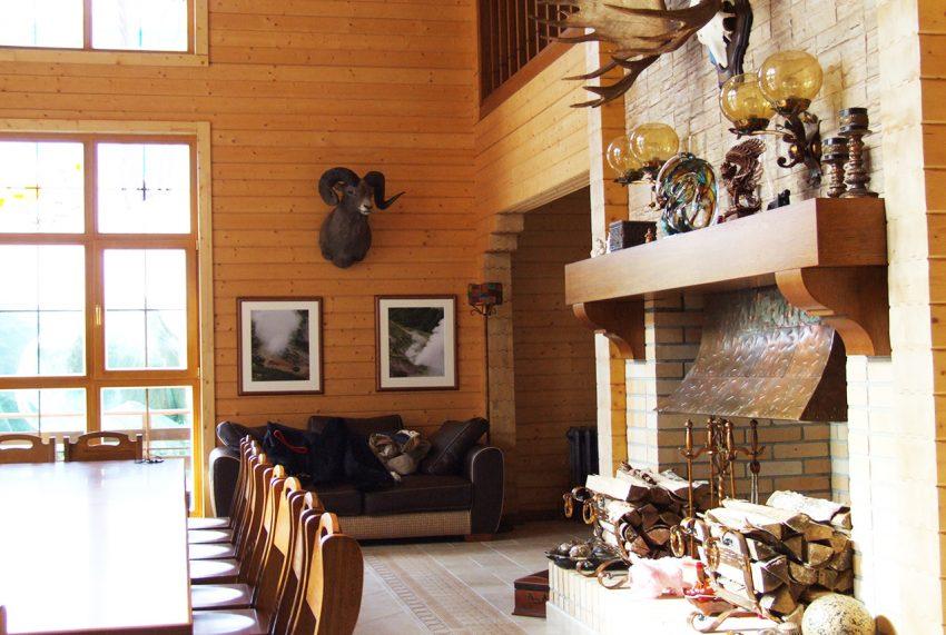 Дизайн интерьера дома из клееного бруса в Конаково 12