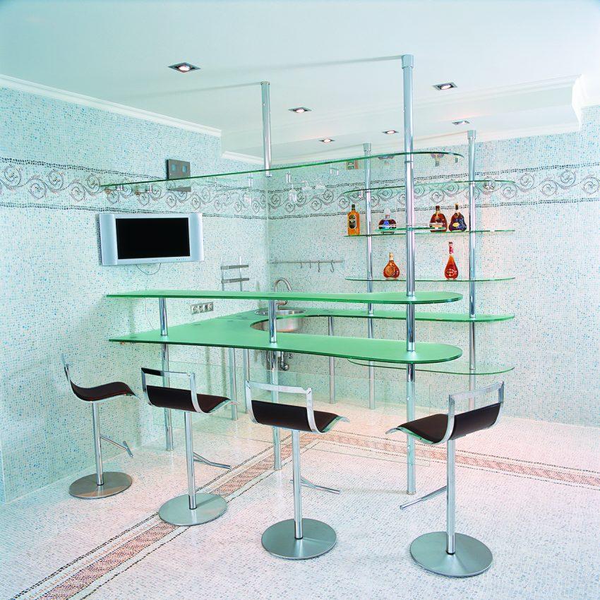 Дизайн проект интерьера четырехуровневого особняка в поселке «Екатериновка» на западе Москвы. 12