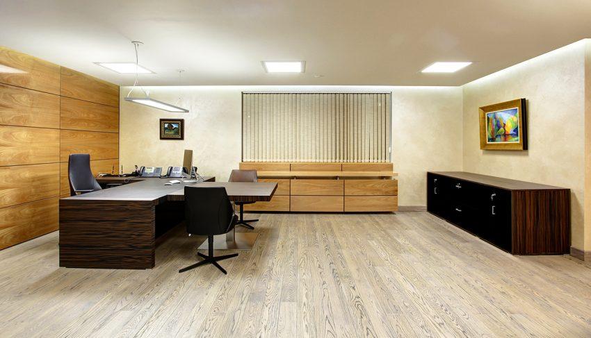 Дизайн интерьера офиса одной из компаний «Газпром» 12