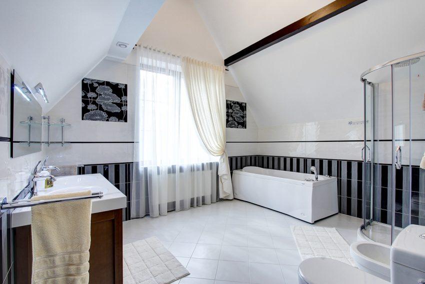 Дизайн интерьера в доме в Горках 12