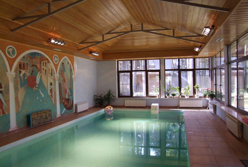 Дизайн проект интерьера дома в Грибово 13
