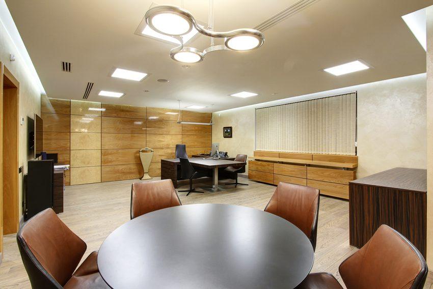 Дизайн интерьера офиса одной из компаний «Газпром» 13