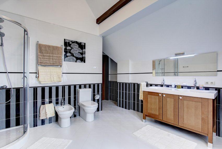 Дизайн интерьера в доме в Горках 13