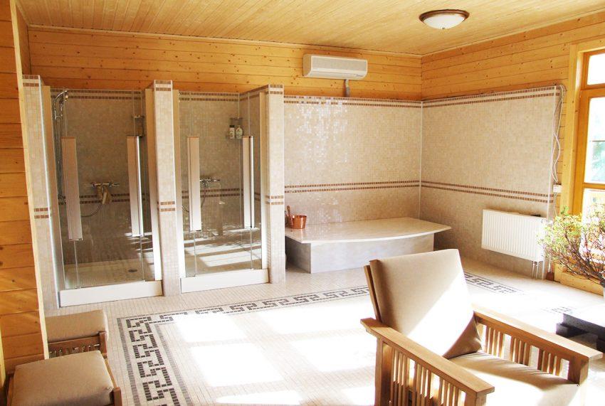Дизайн интерьера дома из клееного бруса в Конаково 14