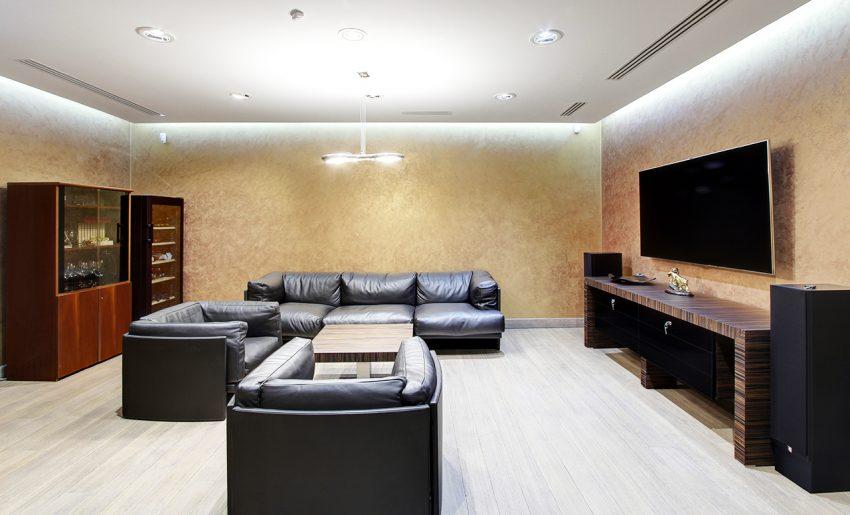 Дизайн интерьера офиса одной из компаний «Газпром» 14