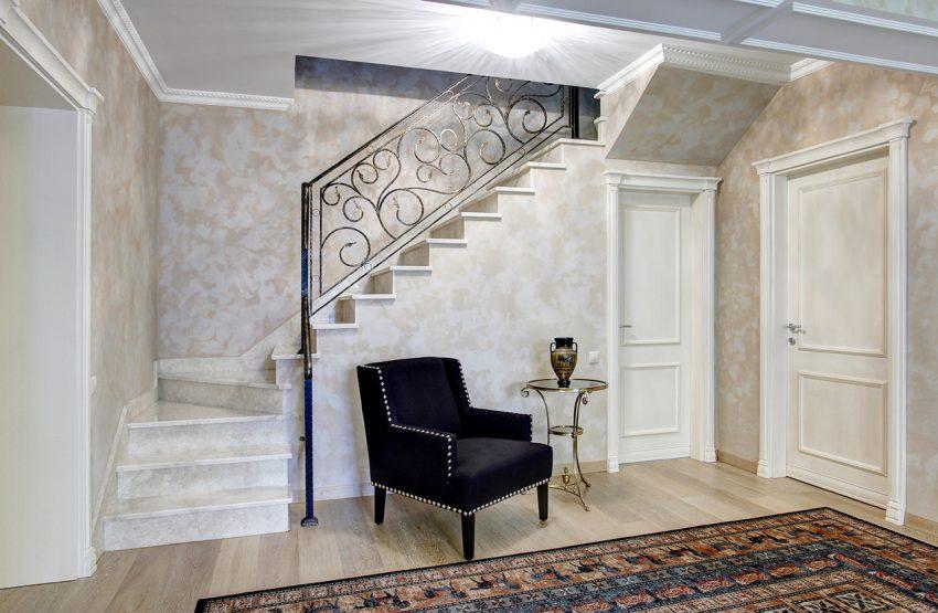 Дизайн интерьера в доме в Горках 14