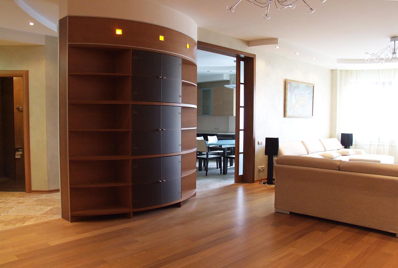 Дизайн проект интерьера квартиры в Протопоповском переулке 15