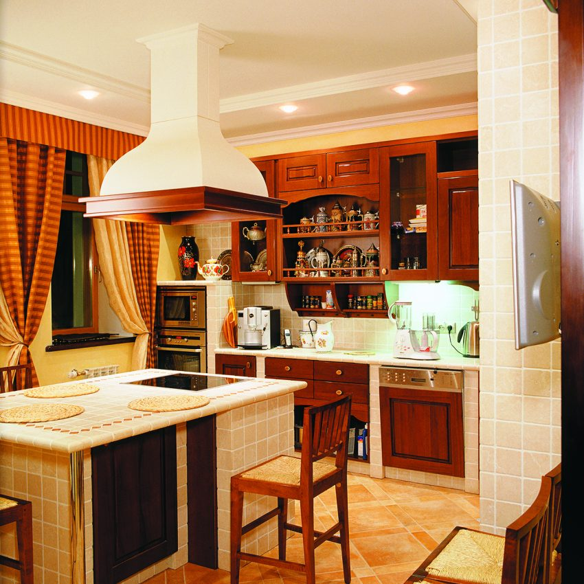 Дизайн проект интерьера четырехуровневого особняка в поселке «Екатериновка» на западе Москвы. 15