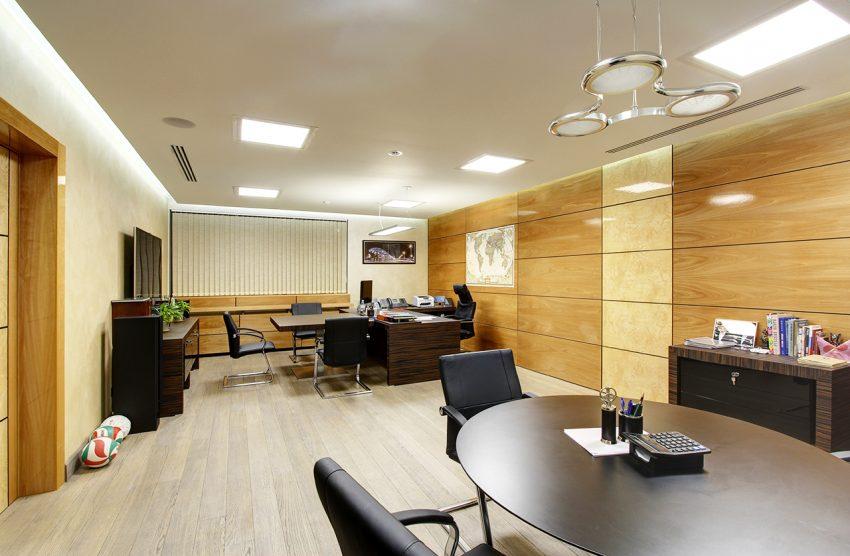 Дизайн интерьера офиса одной из компаний «Газпром» 15