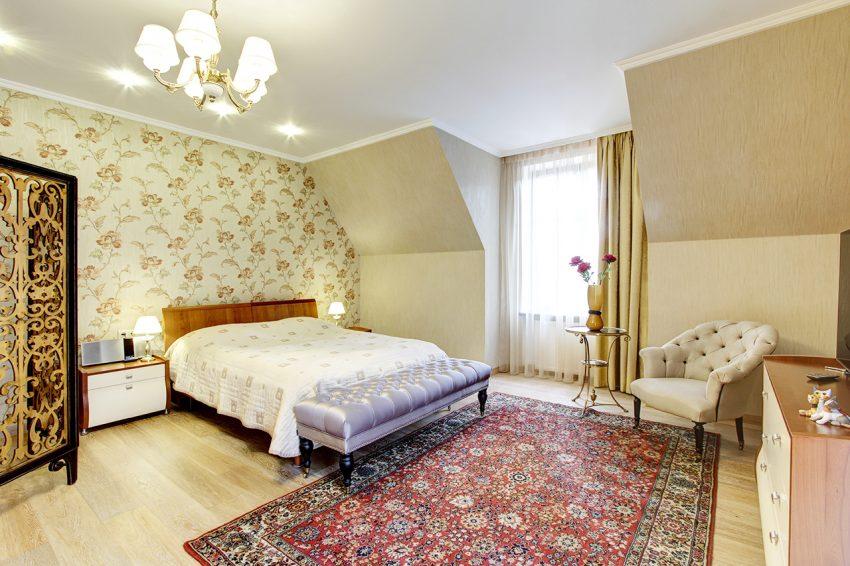 Дизайн интерьера в доме в Горках 16