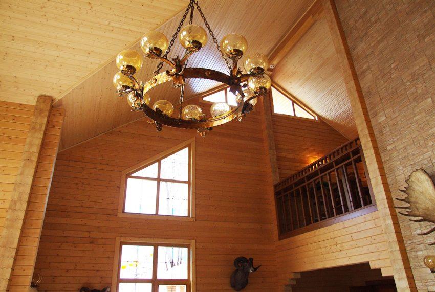 Дизайн интерьера дома из клееного бруса в Конаково 17