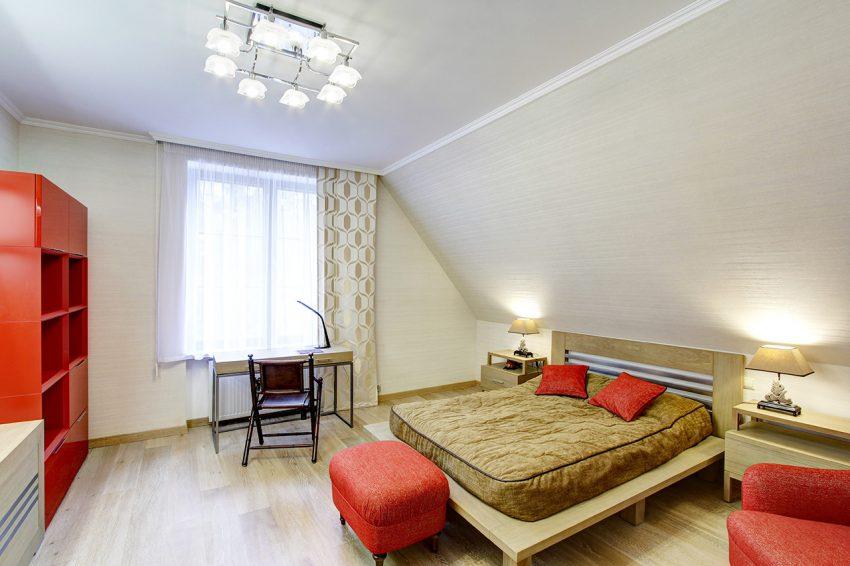 Дизайн интерьера в доме в Горках 17