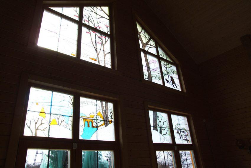 Дизайн интерьера дома из клееного бруса в Конаково 18