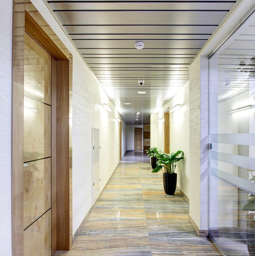 Дизайн интерьера офиса одной из компаний «Газпром» 18
