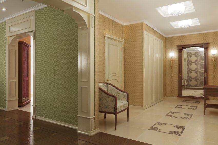 Проектирование квартиры площадью 140М². Ближняя дача 2