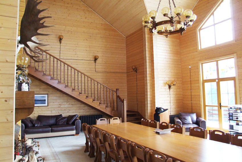 Дизайн интерьера дома из клееного бруса в Конаково 2