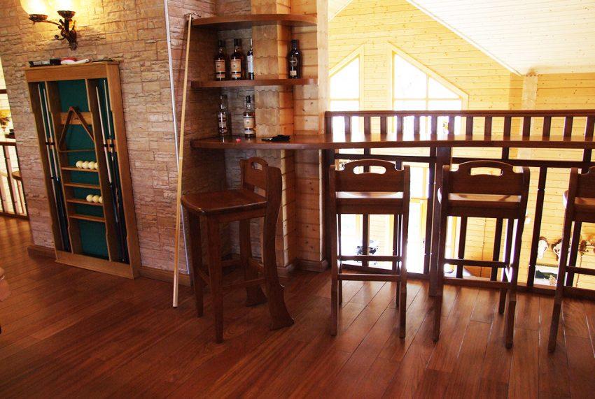 Дизайн интерьера дома из клееного бруса в Конаково 20