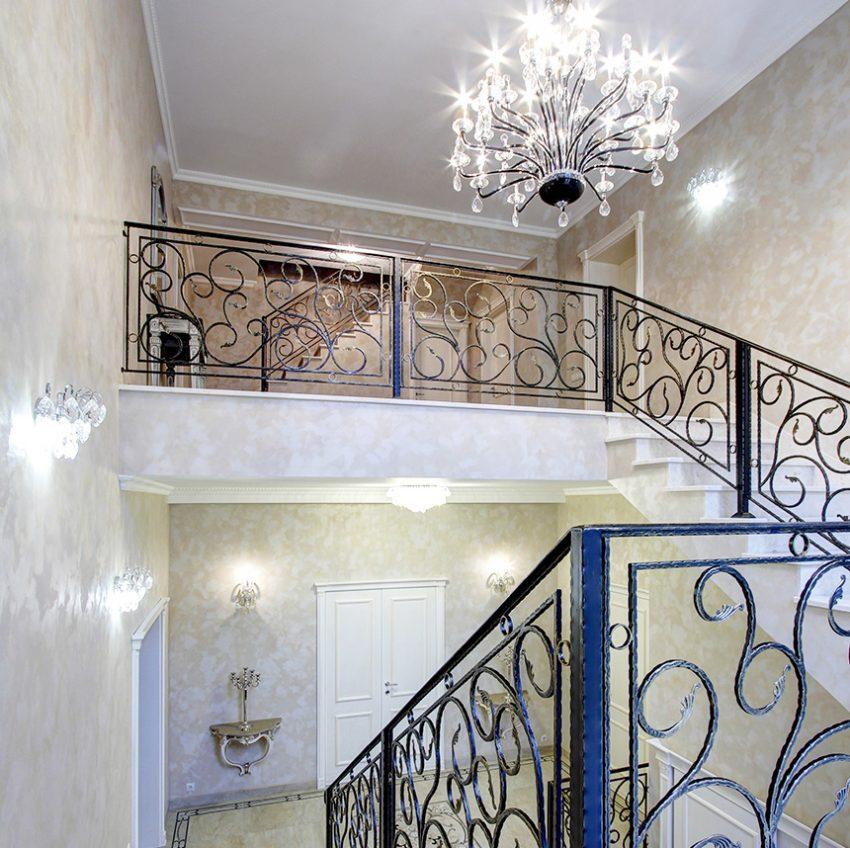 Дизайн интерьера в доме в Горках 21