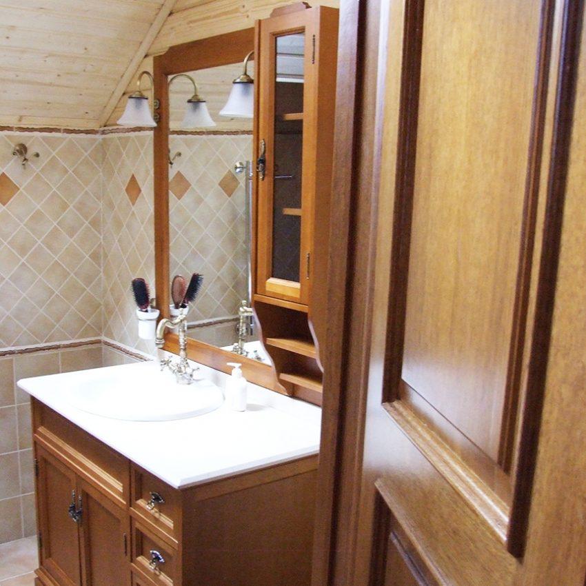 Дизайн интерьера дома из клееного бруса в Конаково23
