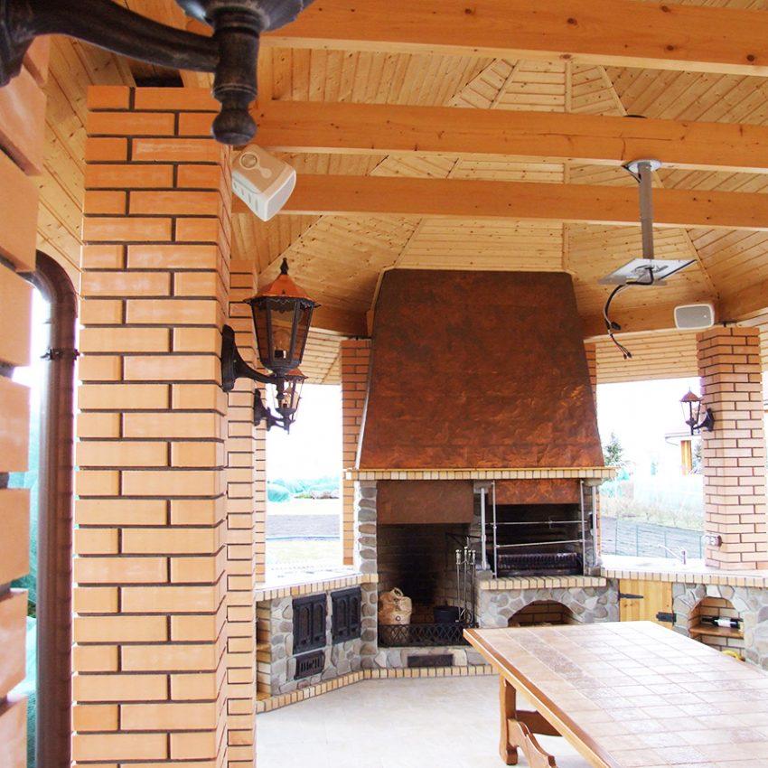 Дизайн интерьера дома из клееного бруса в Конаково 26