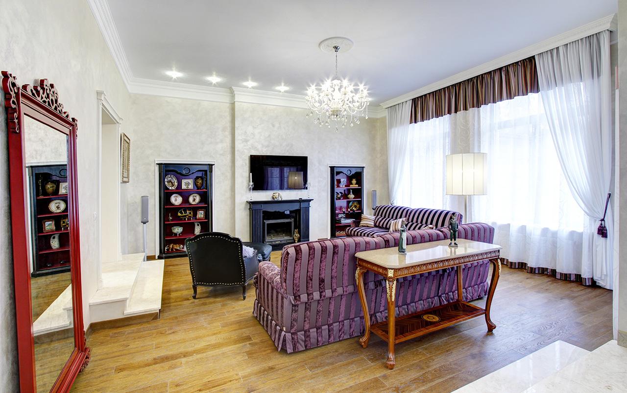 Дизайн интерьера в доме в Горках 27