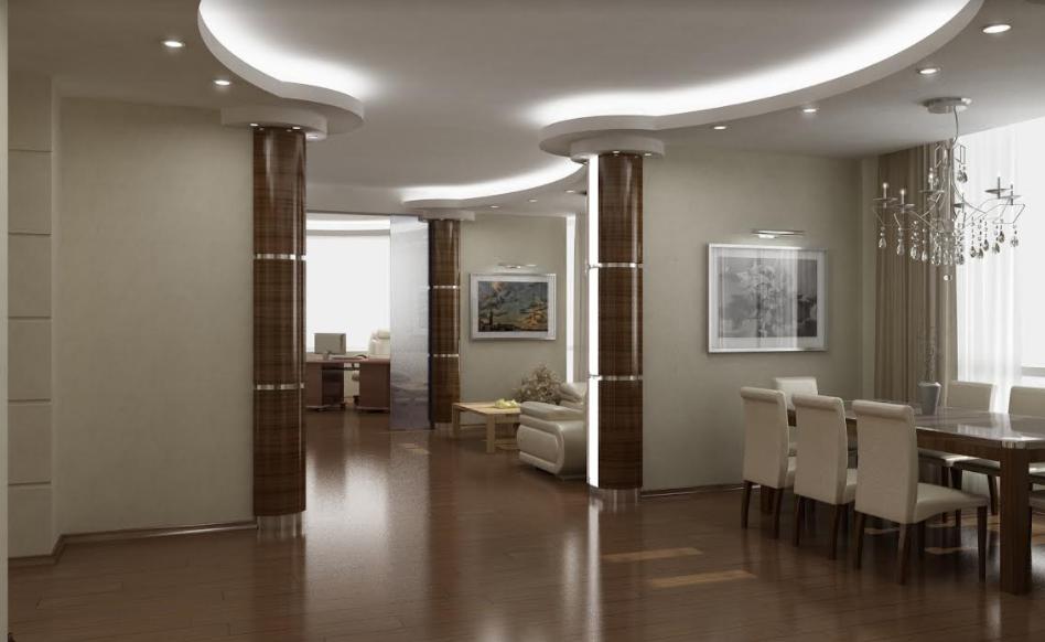 Проектирование квартиры в MOSCOW CITY 230М2