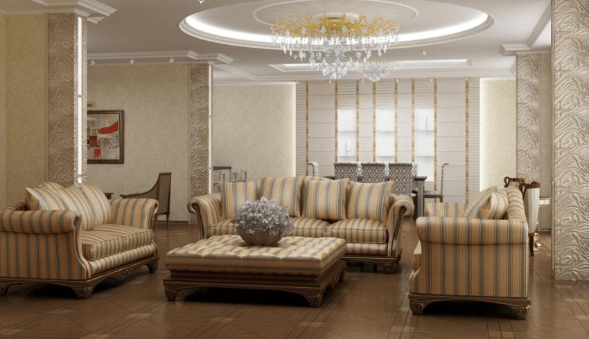 Проектирование квартиры площадью 340М² 2