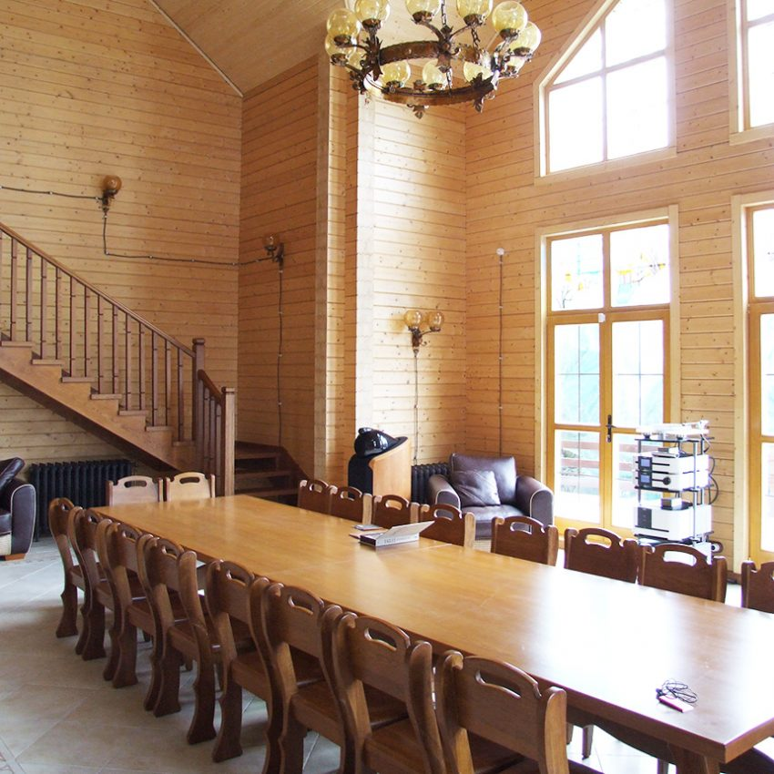 Дизайн интерьера дома из клееного бруса в Конаково 3
