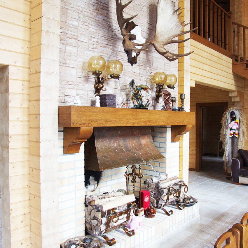 Дизайн интерьера дома из клееного бруса в Конаково 4
