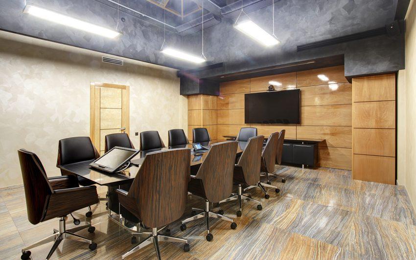Дизайн интерьера офиса одной из компаний «Газпром» 4