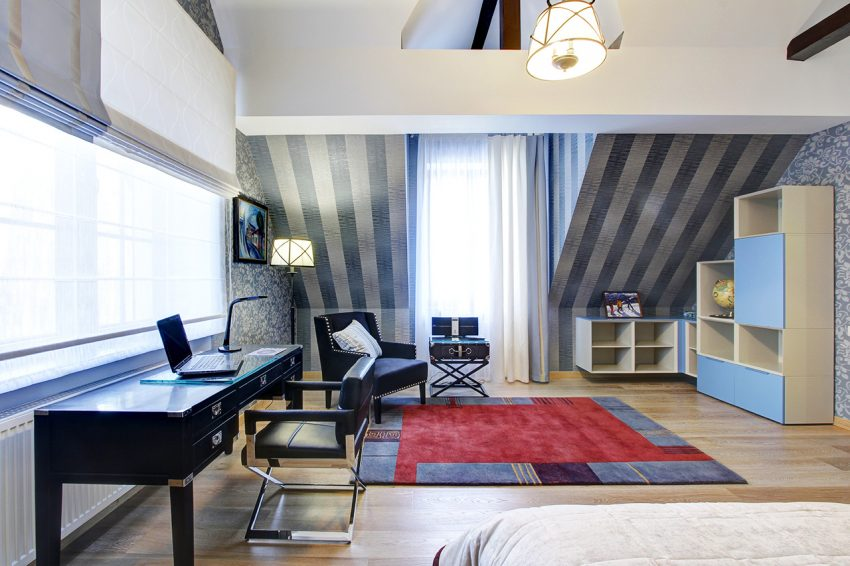 Дизайн интерьера в доме в Горках 4