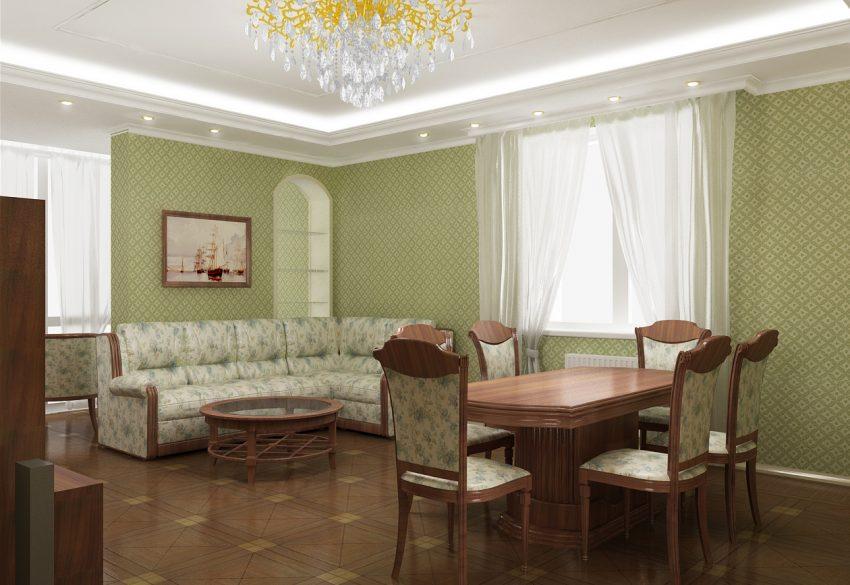 Проектирование квартиры площадью 140М². Ближняя дача 4