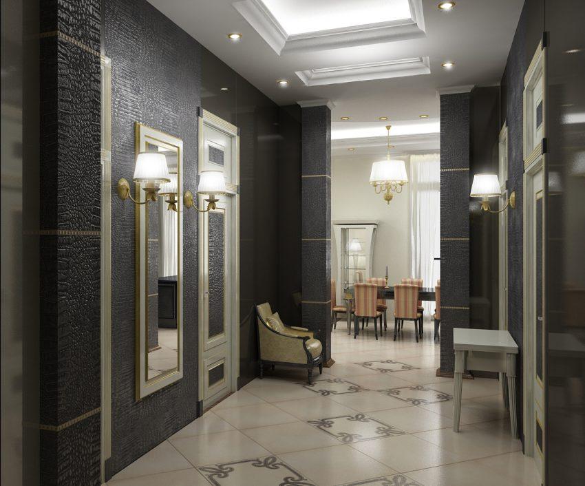 Проектирование квартиры в ЖК «САДОВЫЕ КВАРТАЛЫ» 176М2 4