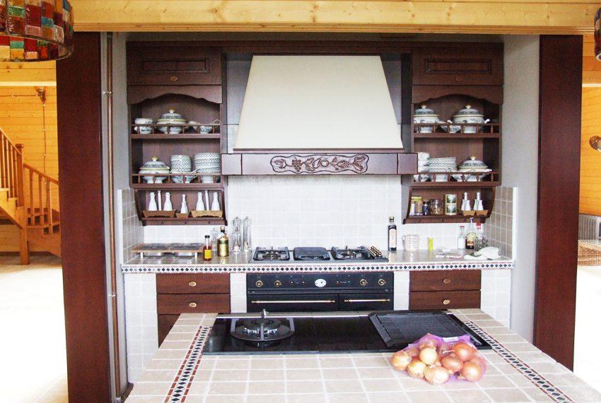 Дизайн интерьера дома из клееного бруса в Конаково 5