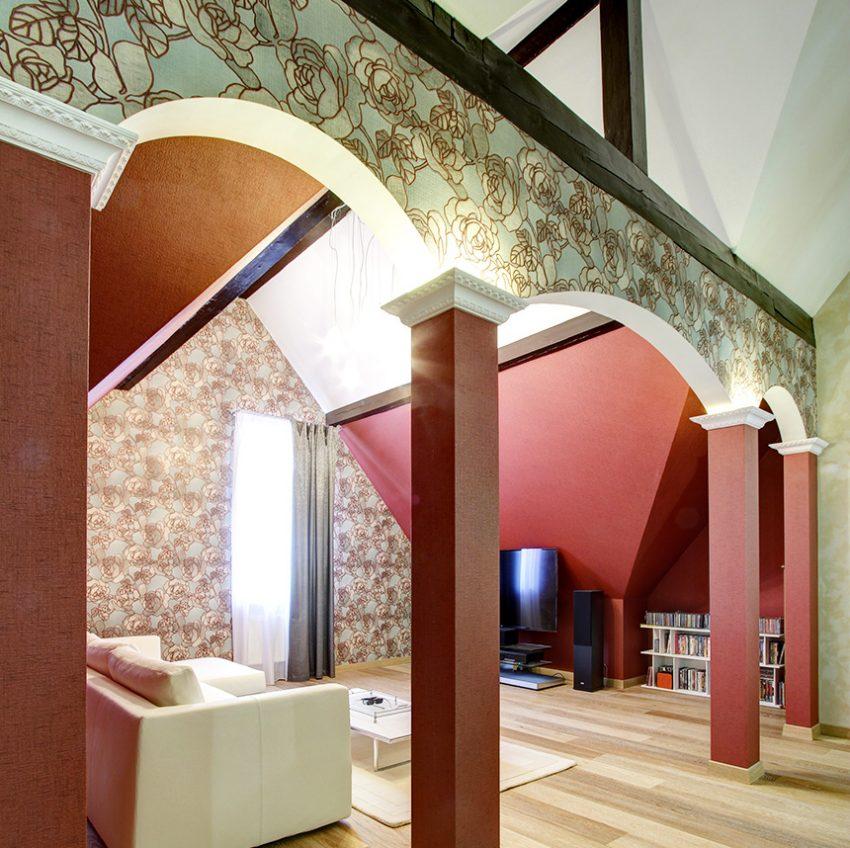 Дизайн интерьера в доме в Горках 5